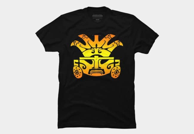 Aztec-Warrior-tshirt