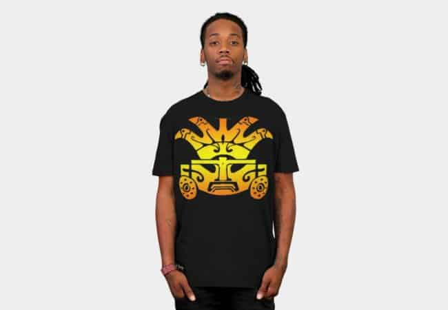 aztec-warrior-t-shirt