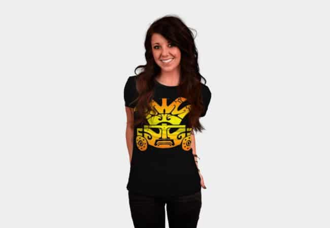 Aztec-Warrior-T-shirt-female