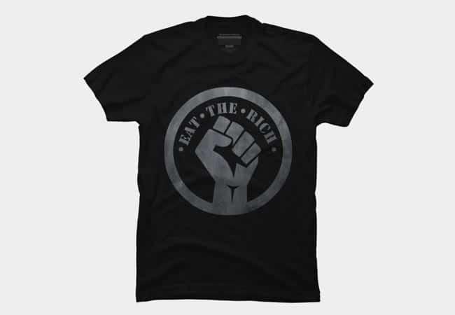 Eat The Rich T Shirt 1