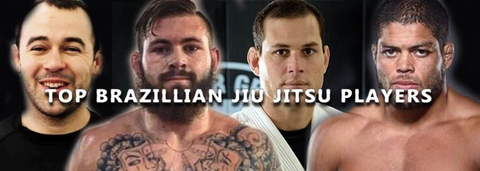 Top Brazilian Jiu Jitsu Players